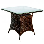 Table Suna, tressé brun